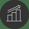 Streamlined data icon